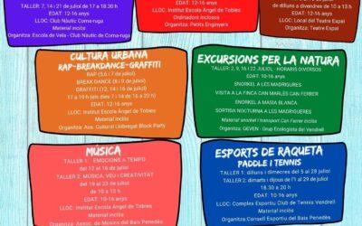 El Pla Educatiu d'Entorn del Vendrell presenta una guia d'activitats d'estiu inclusives