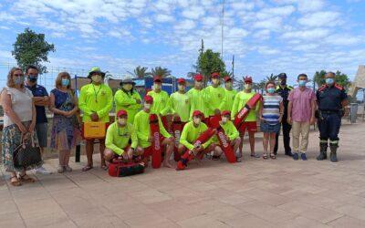 Es presenta el servei de socorrisme de les platges i un protocol de rescat que coordina diferents efectius i serveis
