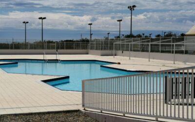 Obertura de la piscina descoberta del Complex Esportiu Club Tennis El Vendrell