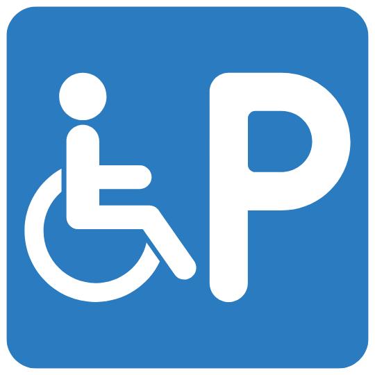 aparcament minusvalids