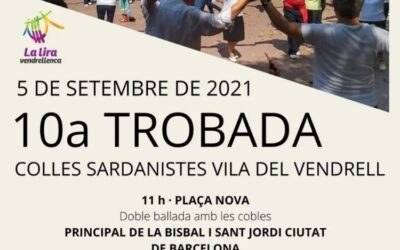 X Trobada de Colles Sardanistes Vila del Vendrell